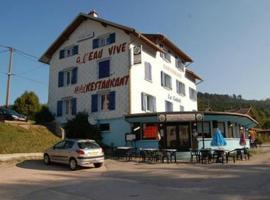Hotel Restaurant l'Eau Vive, Xonrupt-Longemer