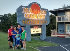 Mountain Country Motor Inn, Branson West