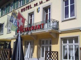 Hotel de la Lande, Le Brassus