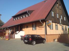 Penzion Restaurace Chanos, Stříbro