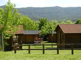 Camping-Bungalow la Vall de Campmajor, Sant Miquel de Campmajor