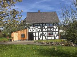 Historisches Fachwerkhaus im Westerwald, Rennerod