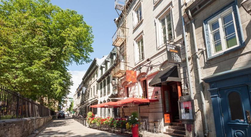 カナダ,ケベックシティ,オーベルジュ プラスダルム(Auberge Place d'Armes)