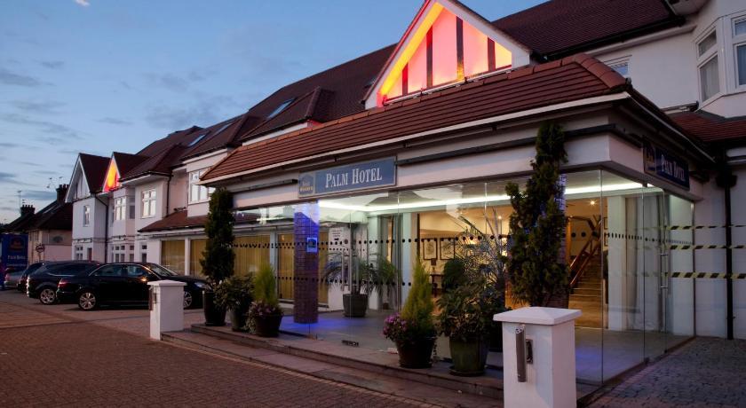 best western palm hotel london uk