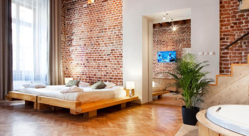 Apparthotel à Cracovie : Spacieux et élégant.