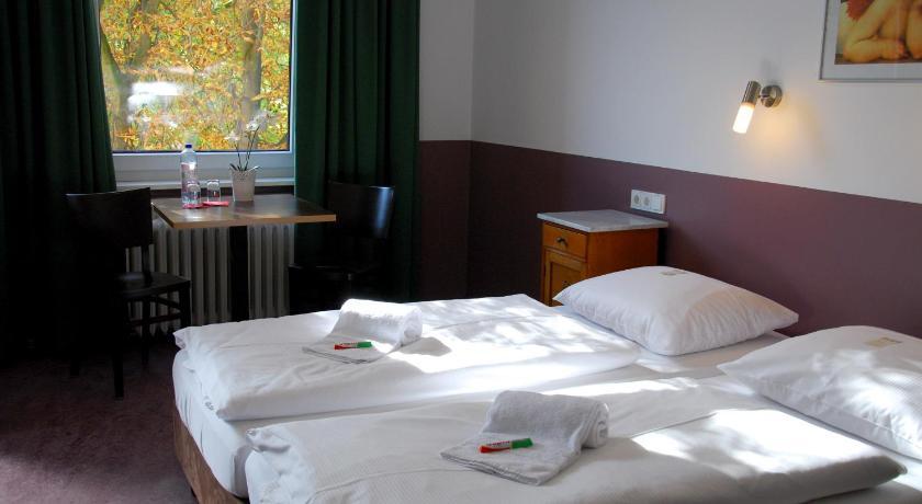 Dortoir de l'auberge de jeunesse Grand Hostel à Berlin.