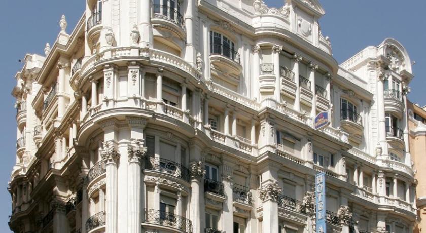 スペイン,マドリード,ホテル アトランティコ(Hotel Atlántico)
