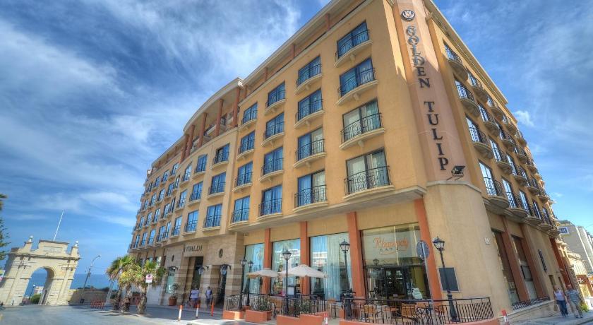 マルタ島,セントジュリアンズ,ゴールデン チューリップ ビバルディ ホテル(Golden Tulip Vivaldi Hotel)