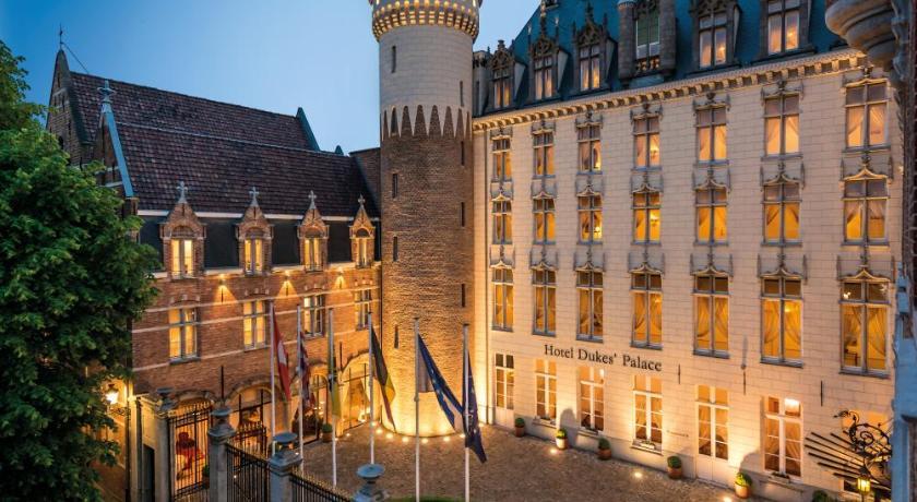ベルギー,ブルージュ,ホテル デュークス パレス ブルッヘ(Hotel Dukes' Palace Brugge)