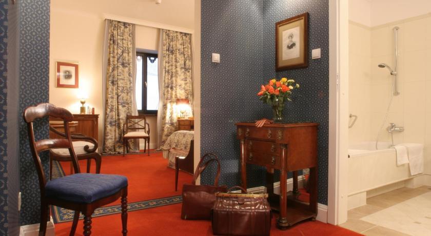 Atmosphère cosy de l'hotel Grodek à Cracovie.