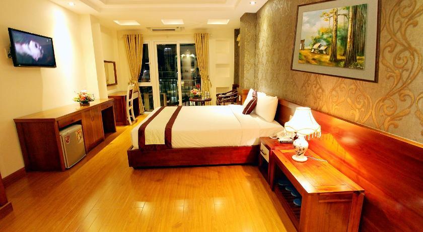 nội thất bên trong khách sạn golden sand