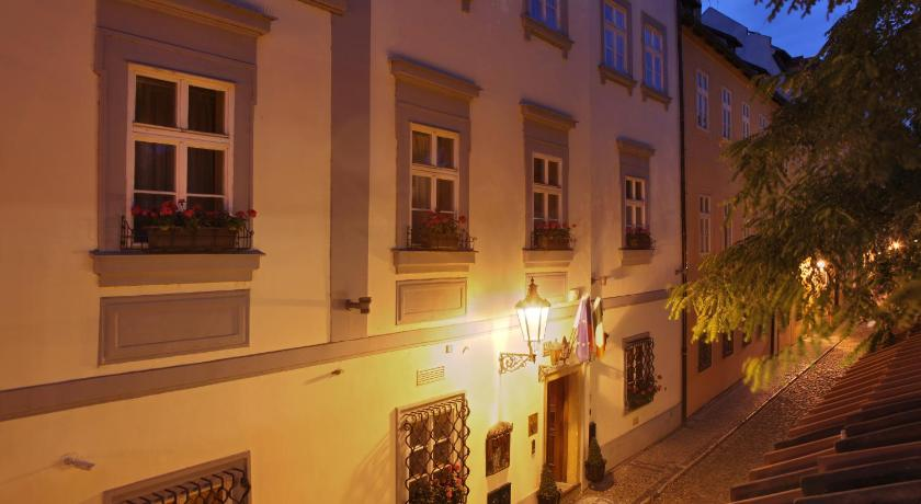 チェコ,プラハ,アルキミスト ノスティツォヴァ パラツェ(Alchymist Nosticova Palace)