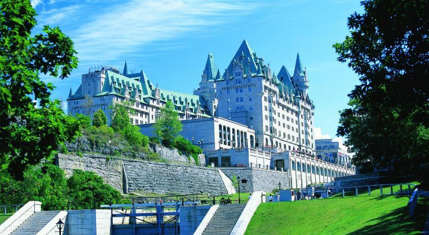 カナダ,オタワ,フェアモント シャトー ローリエ(Fairmont Chateau Laurier)