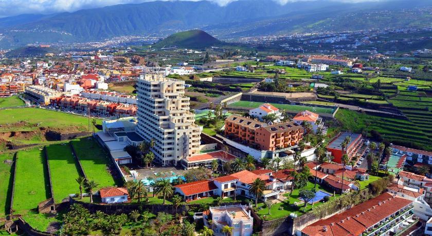 hotel panoramica garden spanien los realejos bookingcom With katzennetz balkon mit teneriffa los realejos hotel panoramica garden