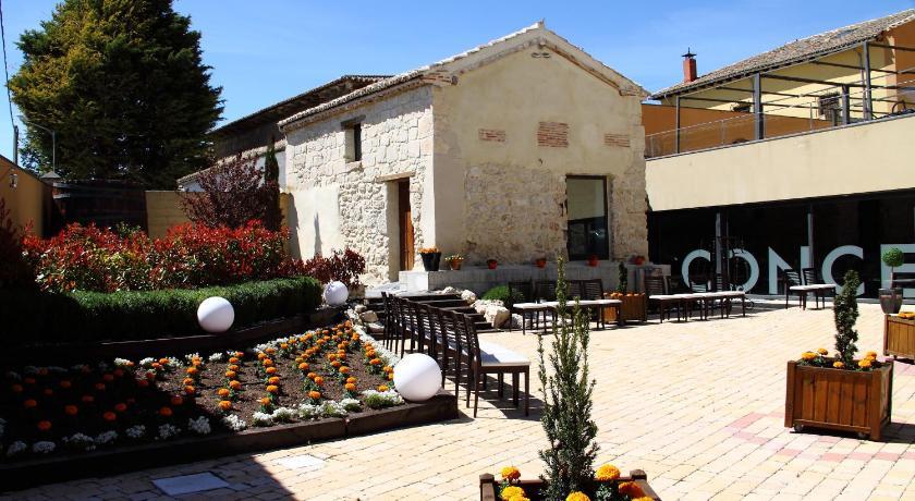 terraza restaurante concejo hospedería - concejo hospederia valladolid