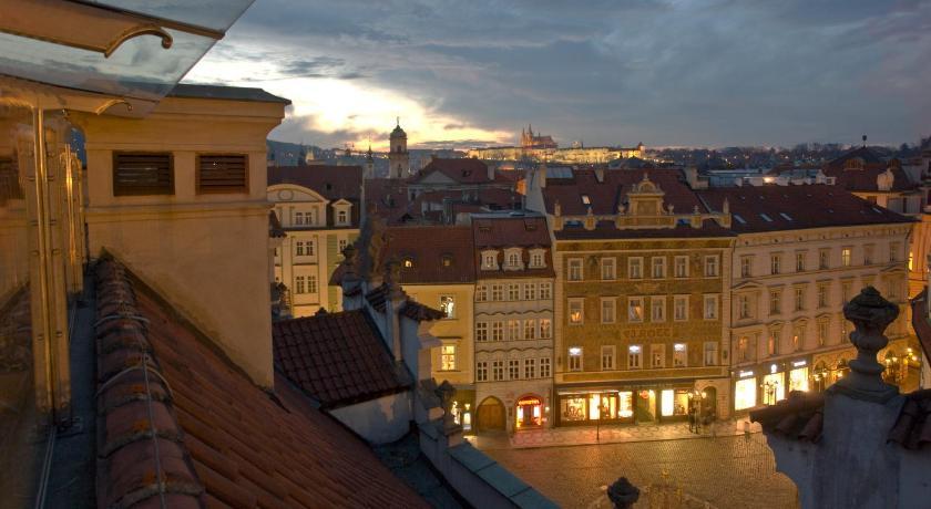 チェコ,プラハ,ホテル ロット(Hotel Rott)