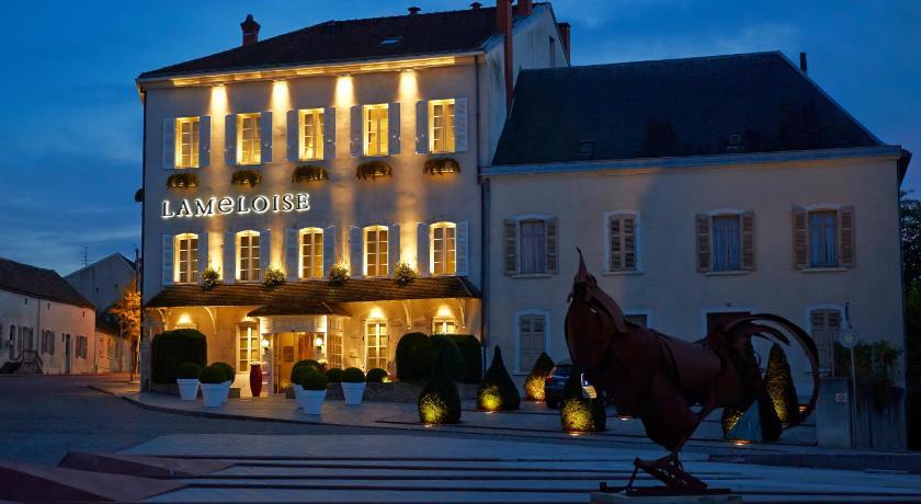 H tel maison lameloise chagny france for Hotel maison