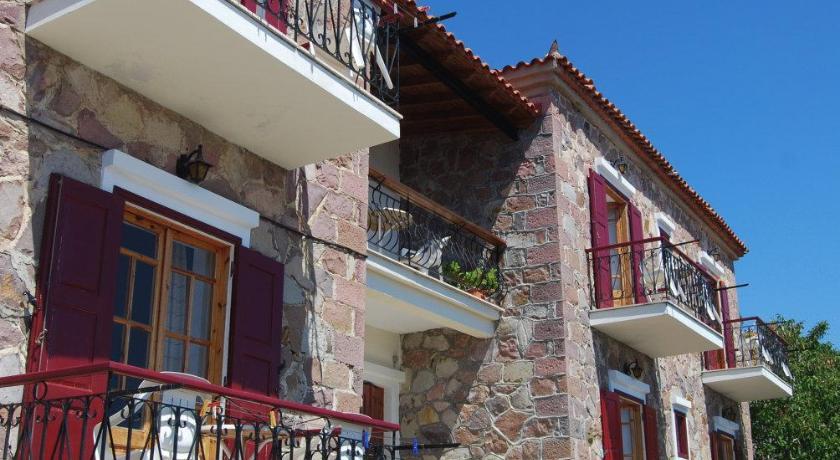 The Schoolmistress With The Golden Eyes, Hotel, Mithimna, Lesvos, 81108, Greece