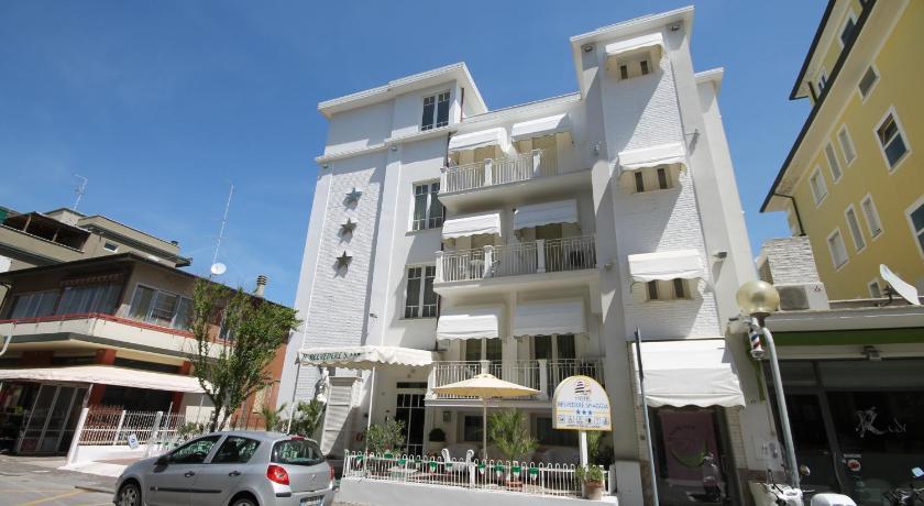 Hotel Belvedere Spiaggia in Rimini