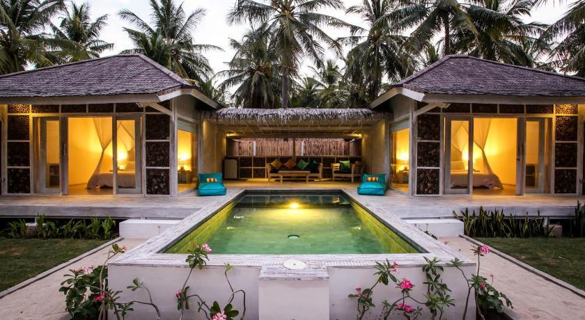 Resort atau penginapan di Gili Trawangan