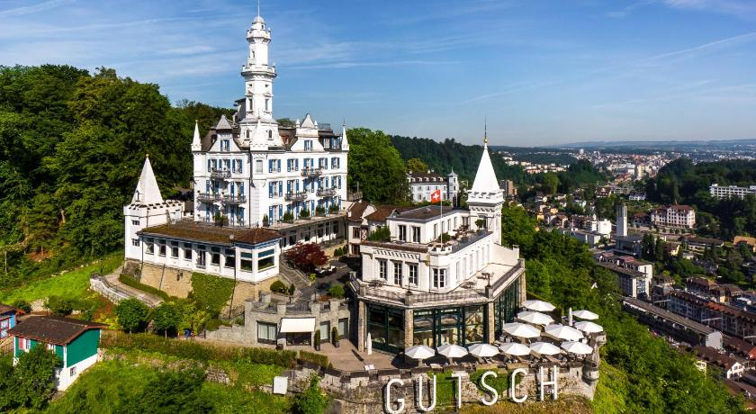 スイス,ルツェルン,シャトー ギュッチ(Château Gütsch)