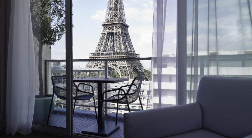 Hotéis em Paris com vista para a Torre Eiffel