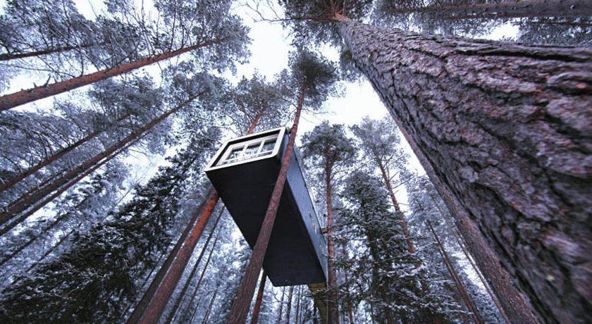 スウェーデン,ホーラズ,ツリーホテル(Treehotel)