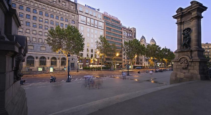 スペイン ,バルセロナ,オリビア プラザ ホテル(Olivia Plaza Hotel)