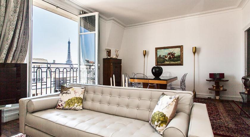 Squarebreak - Apartment with view of the Eiffel... (Paris)