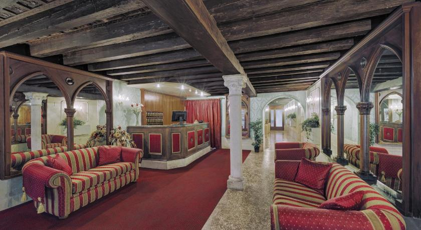 Hotel Pausania in Venedig