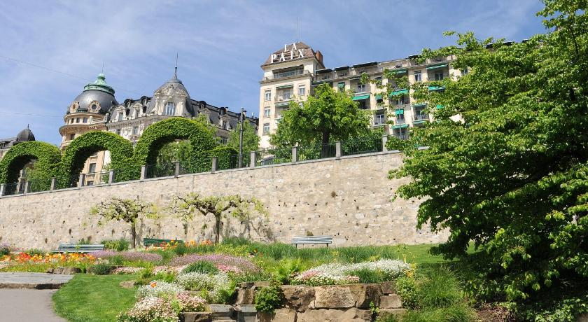 スイス,ローザンヌ,ホテル ドゥ ラ ペ ローザンヌ(Hôtel de la Paix Lausanne)