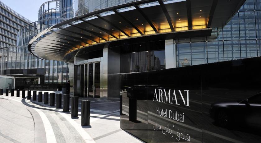 Armani Hotel Booking