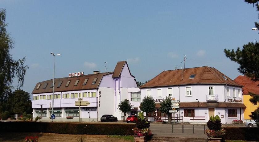 Hotel restaurant niemerich france pulversheim for Telephone booking france