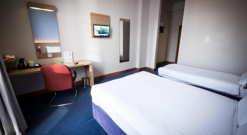 Bedrooms at The Travelodge Derry Northern Ireland