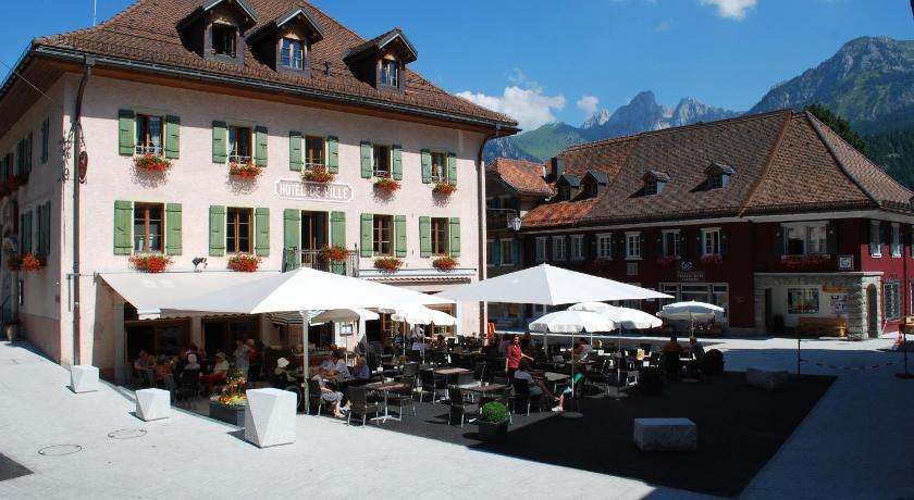 Kết quả hình ảnh cho De L'Hotel De Ville, Lausanne, Thụy Sĩ