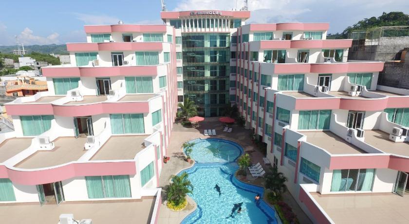 Hotel el marqu s ecuador atacames for Hotel el marques