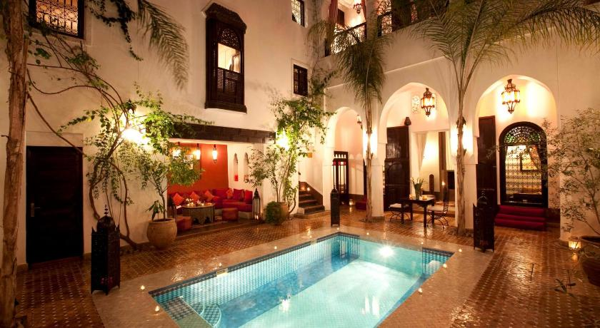 Riad assouel marrakech marruecos for Architecture andalouse