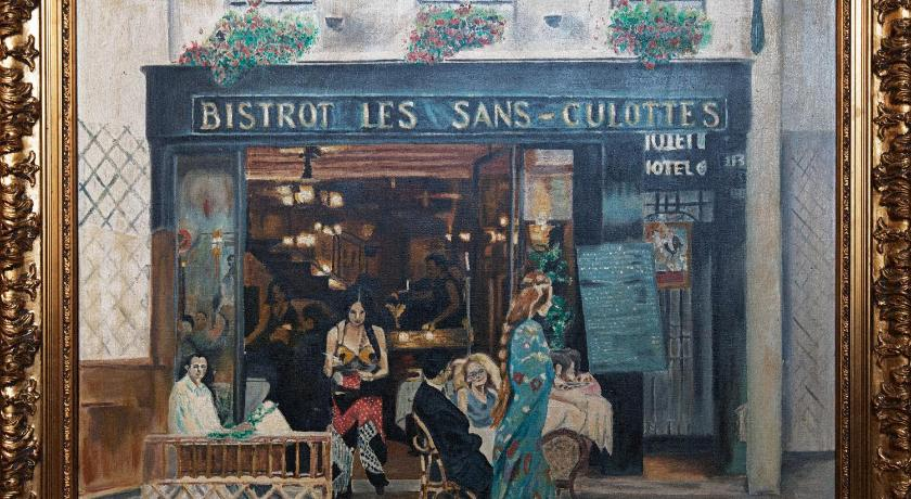 Hotel bistrot les sans culottes paris including photos for Reservation hotel france sans payer