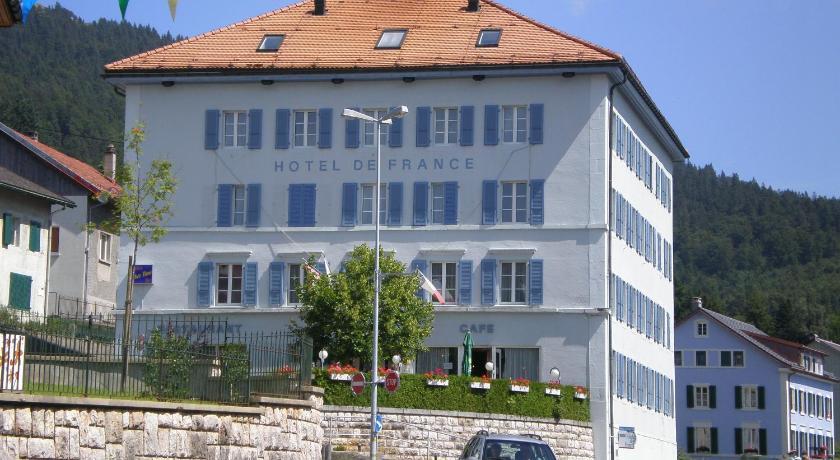 H tel de france sainte croix suisse for Reservation hotel france