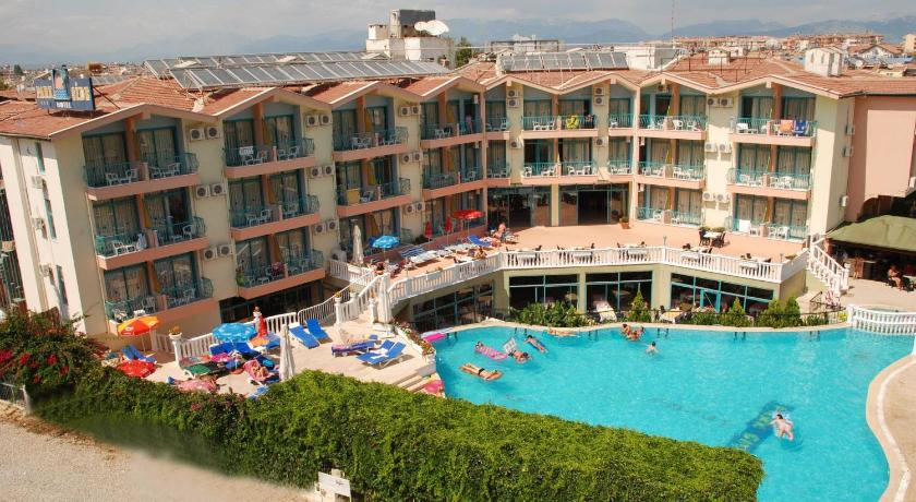 Bookingcom park side hotel side turkei for Katzennetz balkon mit hotel can garden side