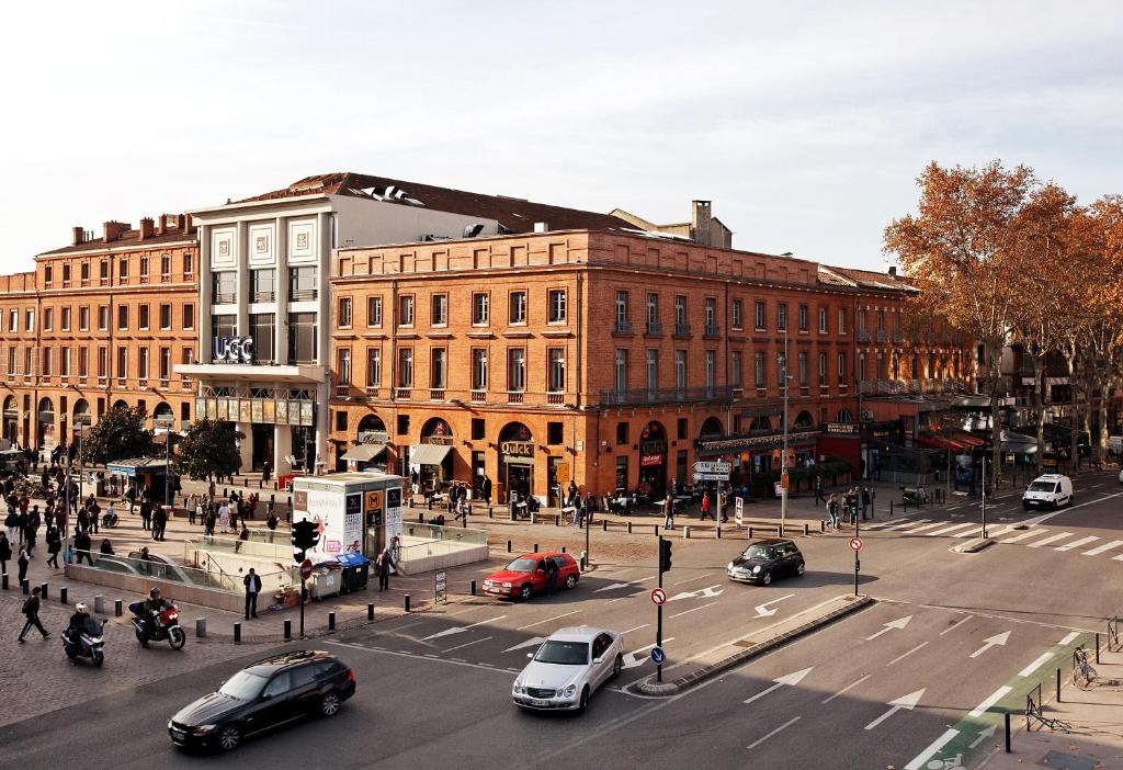 Citiz hotel toulouse online booking viamichelin for Hotels toulouse
