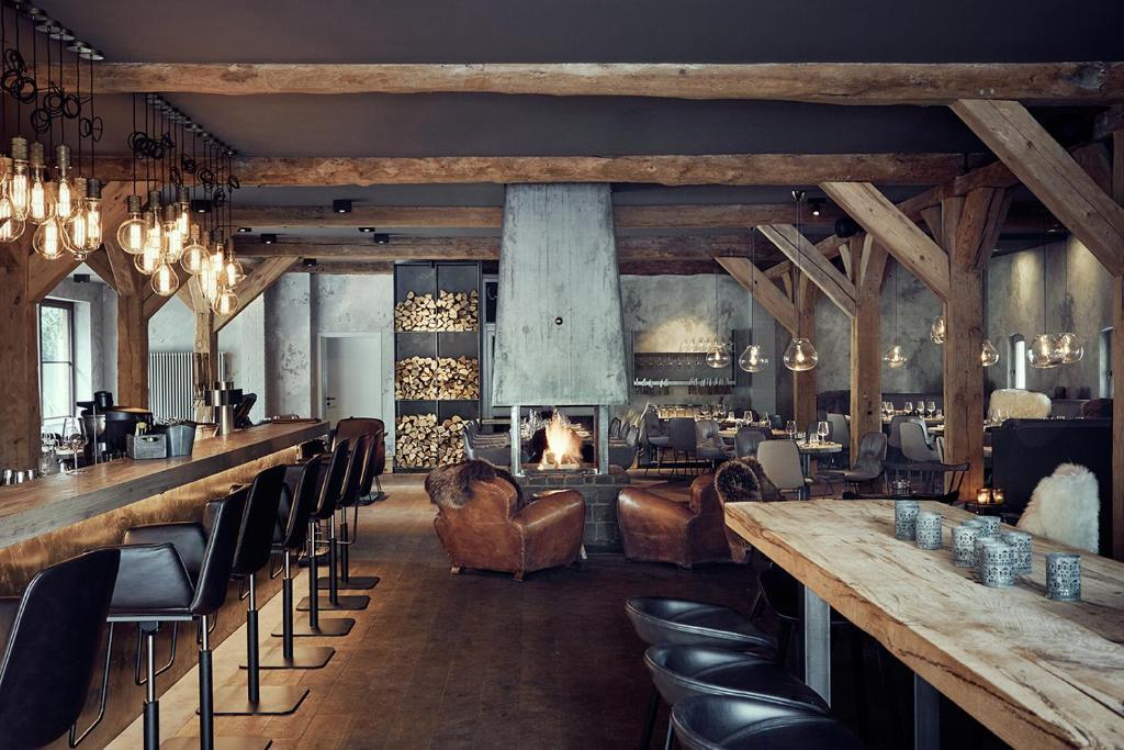 landhaus flottbek hamburg viamichelin informatie en online reserveren. Black Bedroom Furniture Sets. Home Design Ideas