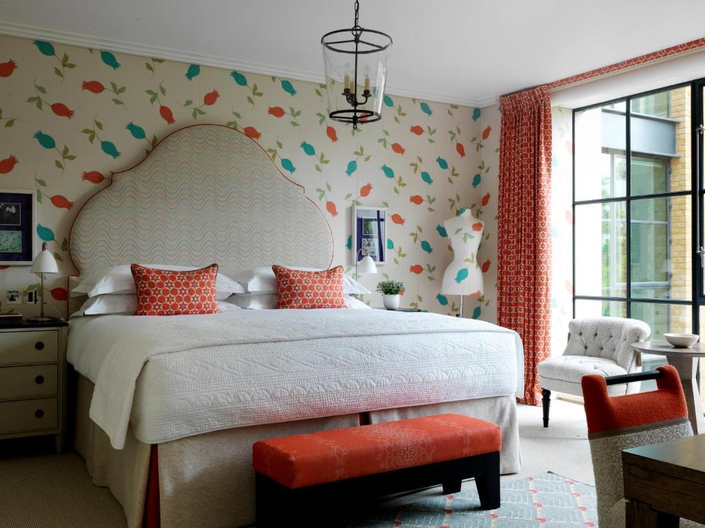 ham yard hotel firmdale hotels london online booking viamichelin. Black Bedroom Furniture Sets. Home Design Ideas