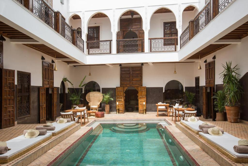 Riad kasbah r servation gratuite sur viamichelin for Riad piscine privee marrakech