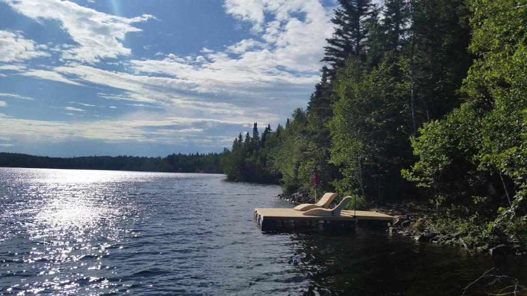 Lodge des Bois (Canadá Saint-Félix-dOtis) - Booking.com