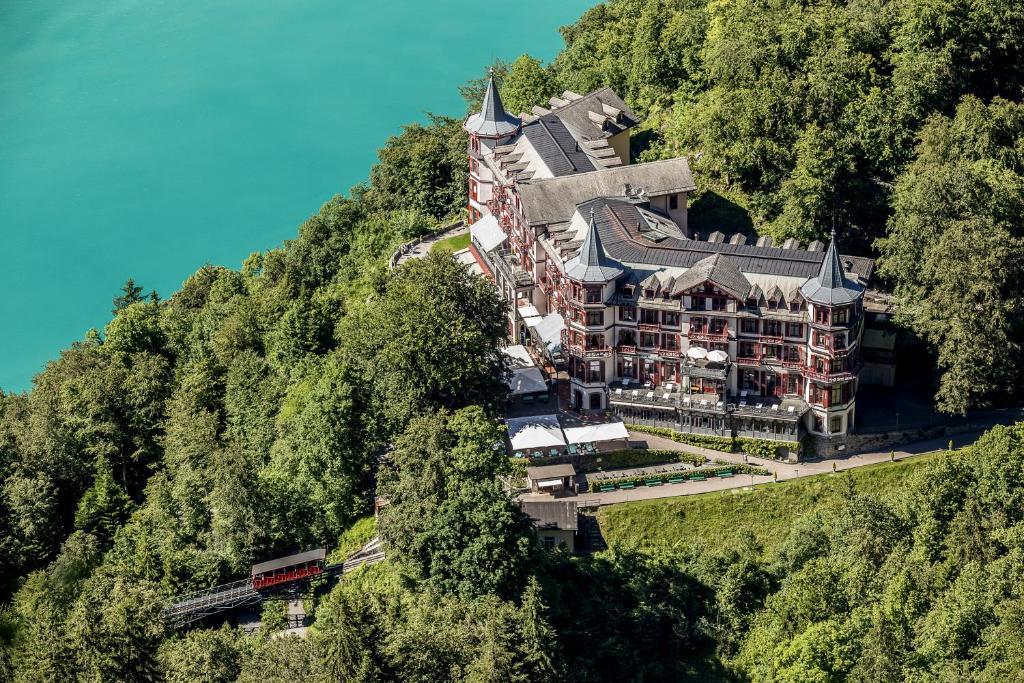 منظر فندق غراند غيسباخ من الأعلى