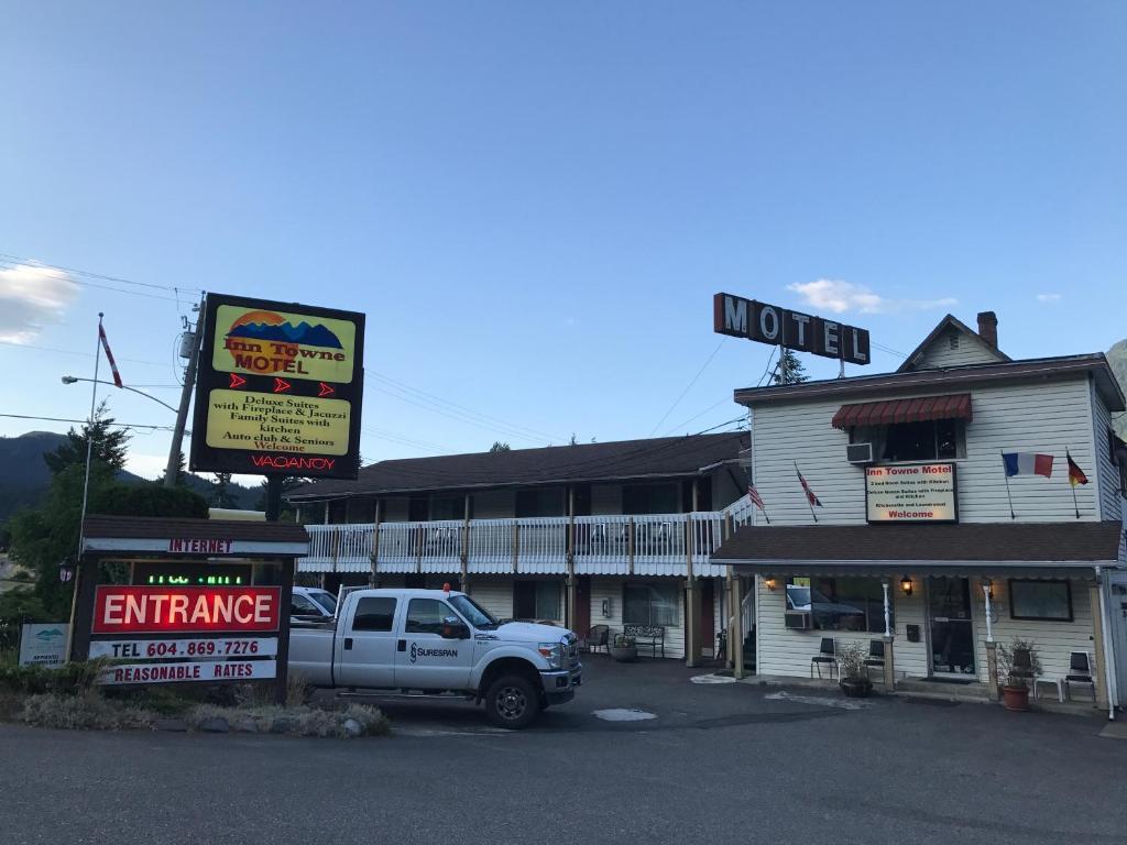 Inntowne motel r servation gratuite sur viamichelin for Reservation motel