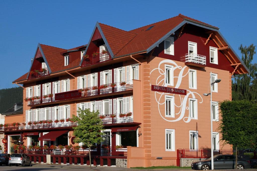 hotel des bains g rardmer online booking viamichelin