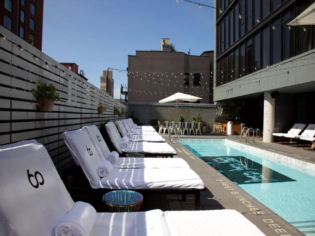 Sixty les new york online booking viamichelin for Sixty hotel new york