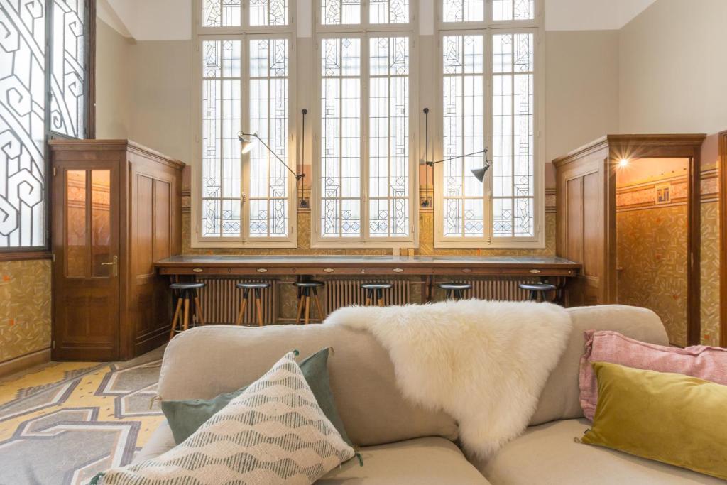 apartamento l 39 ancienne poste de trouville fran a. Black Bedroom Furniture Sets. Home Design Ideas